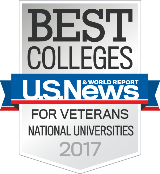 US News & World Report Best Colleges National Universities for Veterans 2017