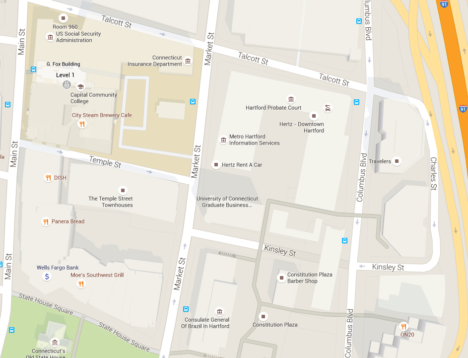 Directions to Graduate Business Learning Center | School of