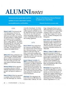 alumni notes 2010