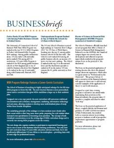business briefs fall 2010