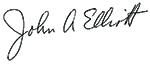 John Elliot Signature