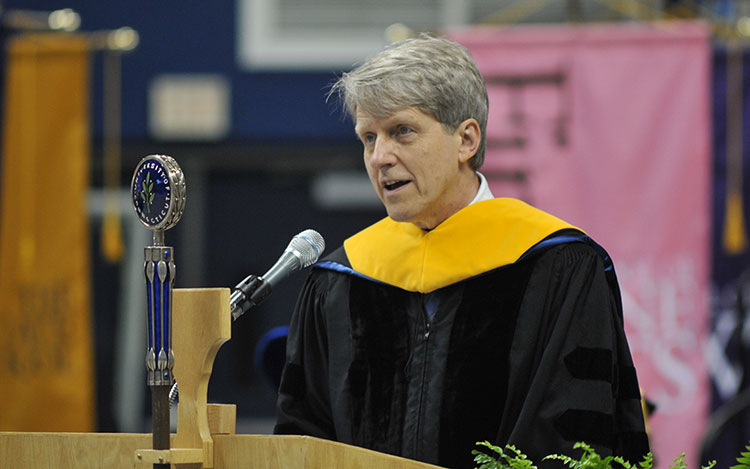 Robert Shiller, 2015 Commencement Speaker