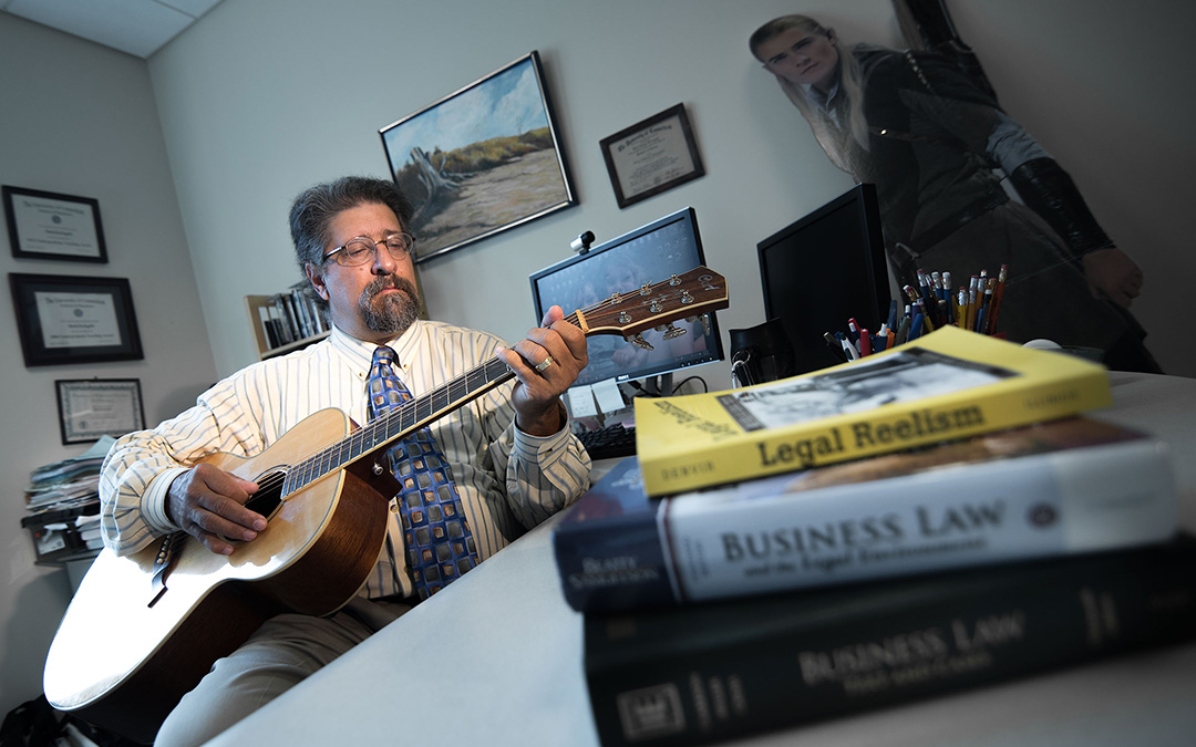 A Sea-Shanty or Two: Professor DeAngelis Uses Pop Culture, Creativity to Engage Students