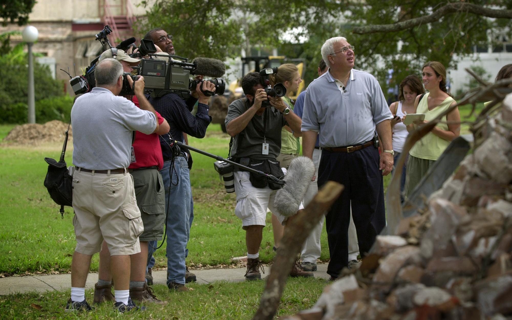 Tulane President Stood Up to Hurricane Katrina—and Won