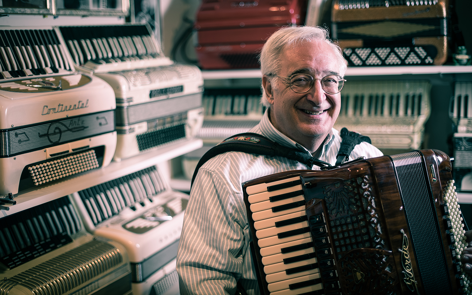 Professor Ramunni's 'Accordion Fever'