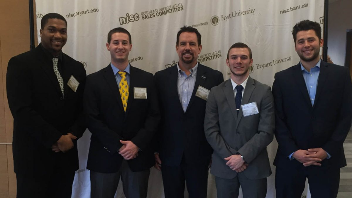 Tyler Elliot, Adam Lefkowitz, Instructor Bill Ryan, Beau Baker, and Dylan DeLeon