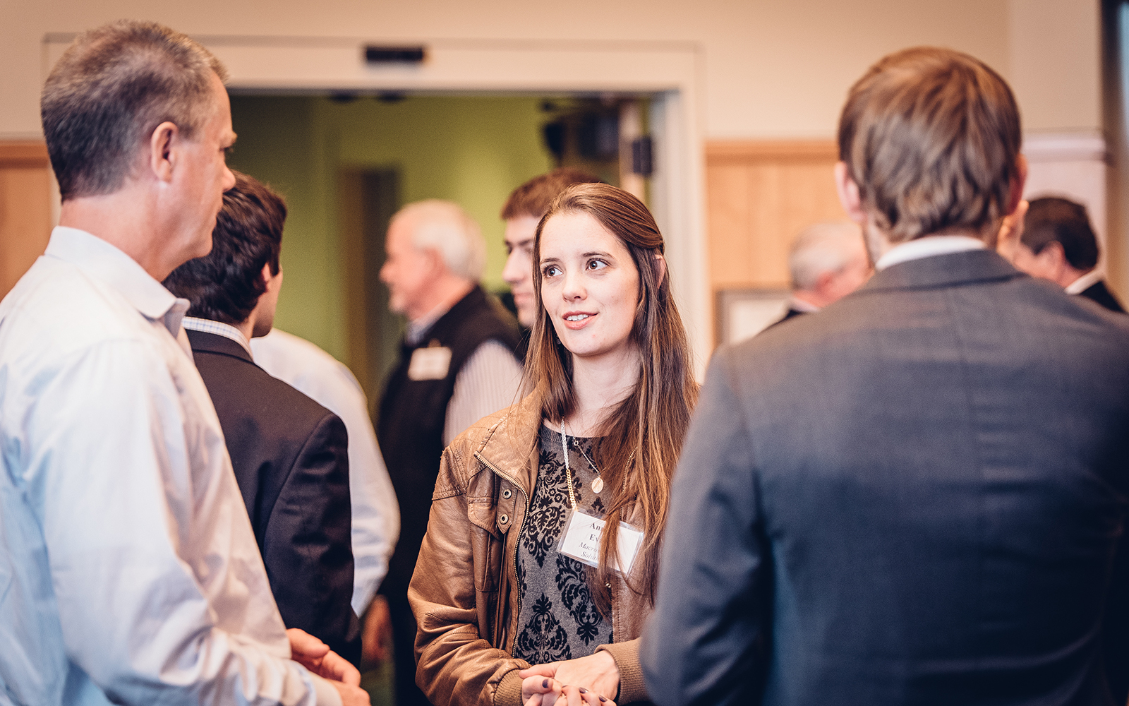 Students, alumni, and mentors gathered on Feb. 22 to launch the 5th Annual Innovation Quest.  (Nathan Oldham/UConn School of Business)