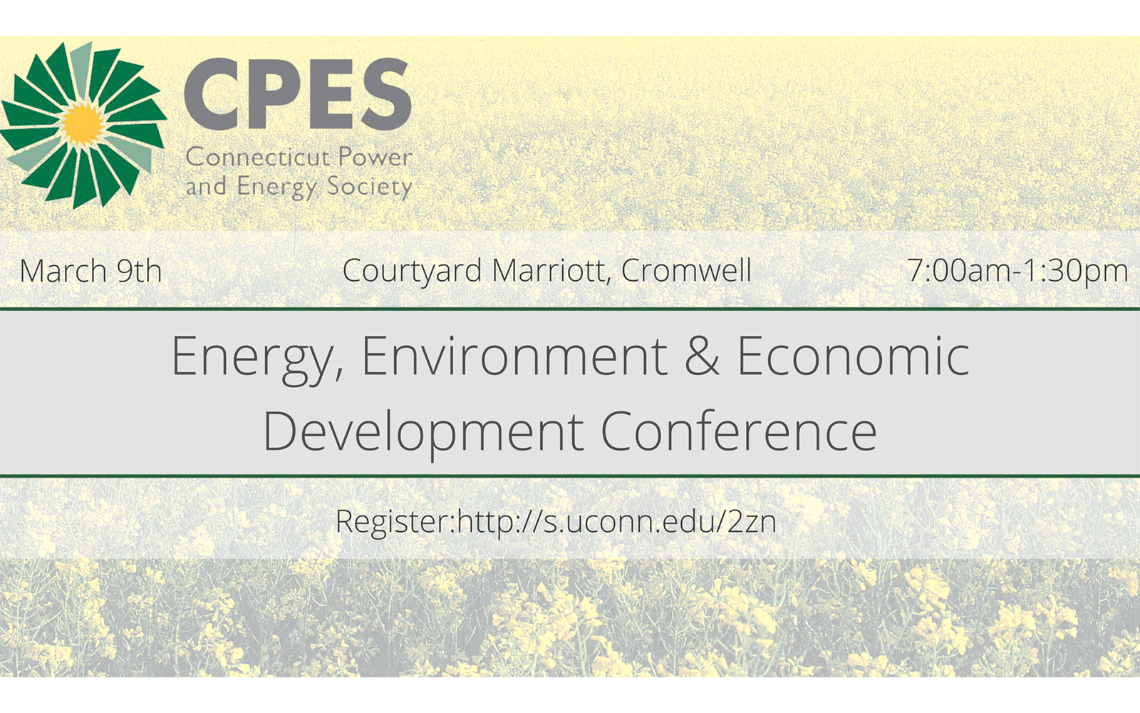 Connecticut Power and Energy Society presents the Energy, Environment & Economic Development Conference