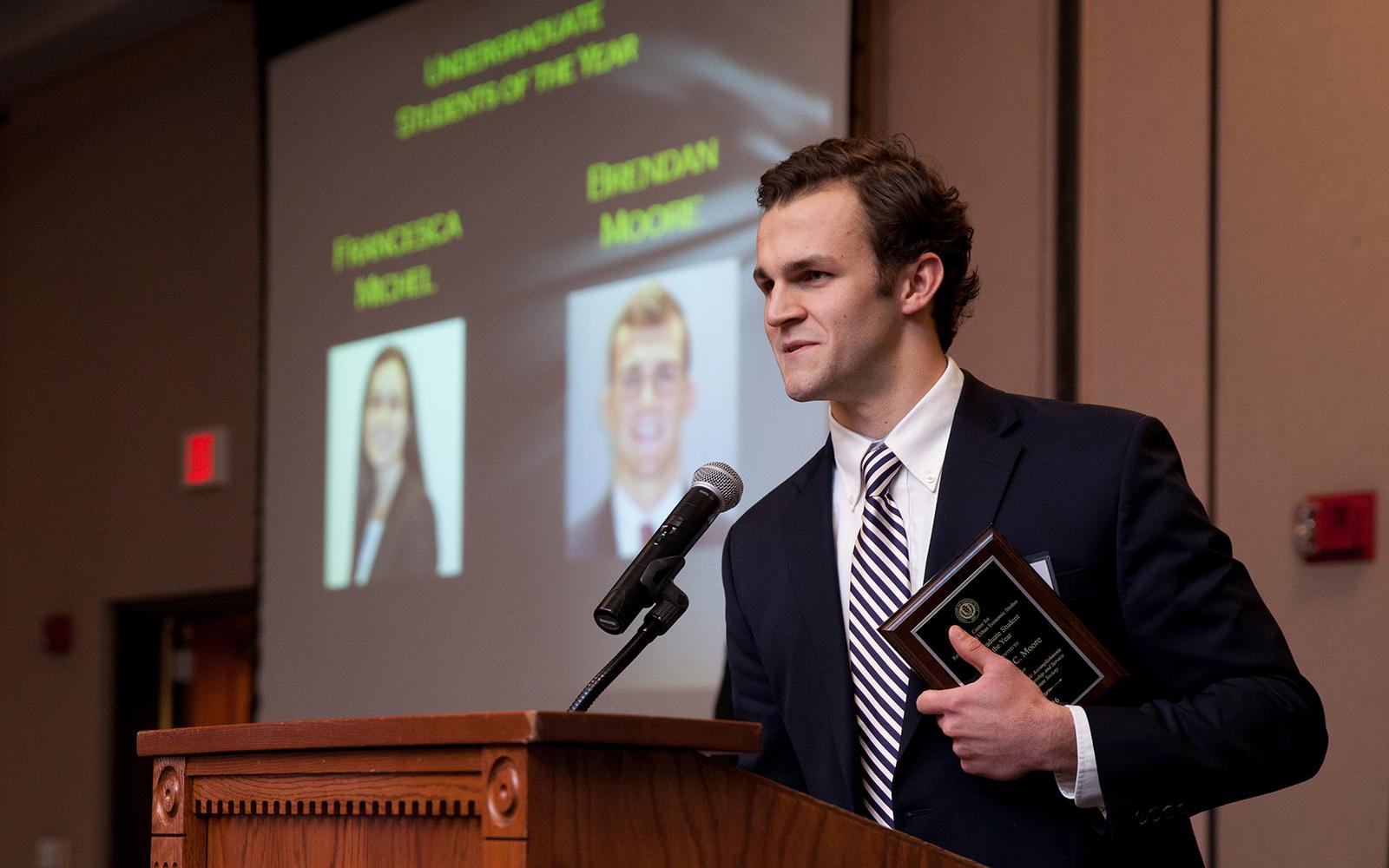Brendan Moore (Zack Wussow/UConn School of Business)