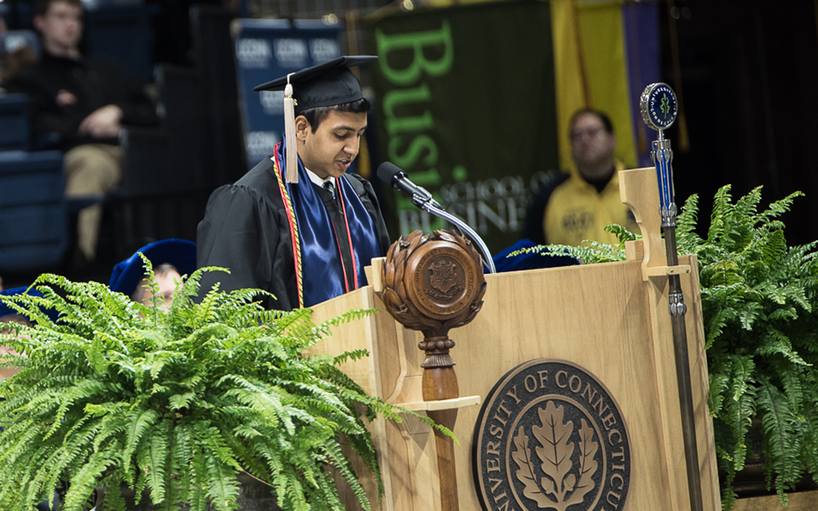 Parth Rana '16 (Nathan Oldham/UConn School of Business)