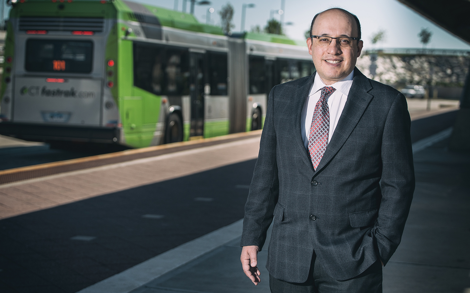 Jeffrey Cohen, who specializes in real estate and finance, has received a $194,000 grant from the state Department of Transportation to start investigating economic changes along the CTfastrak bus route. (Nathan Oldham/UConn School of Business)
