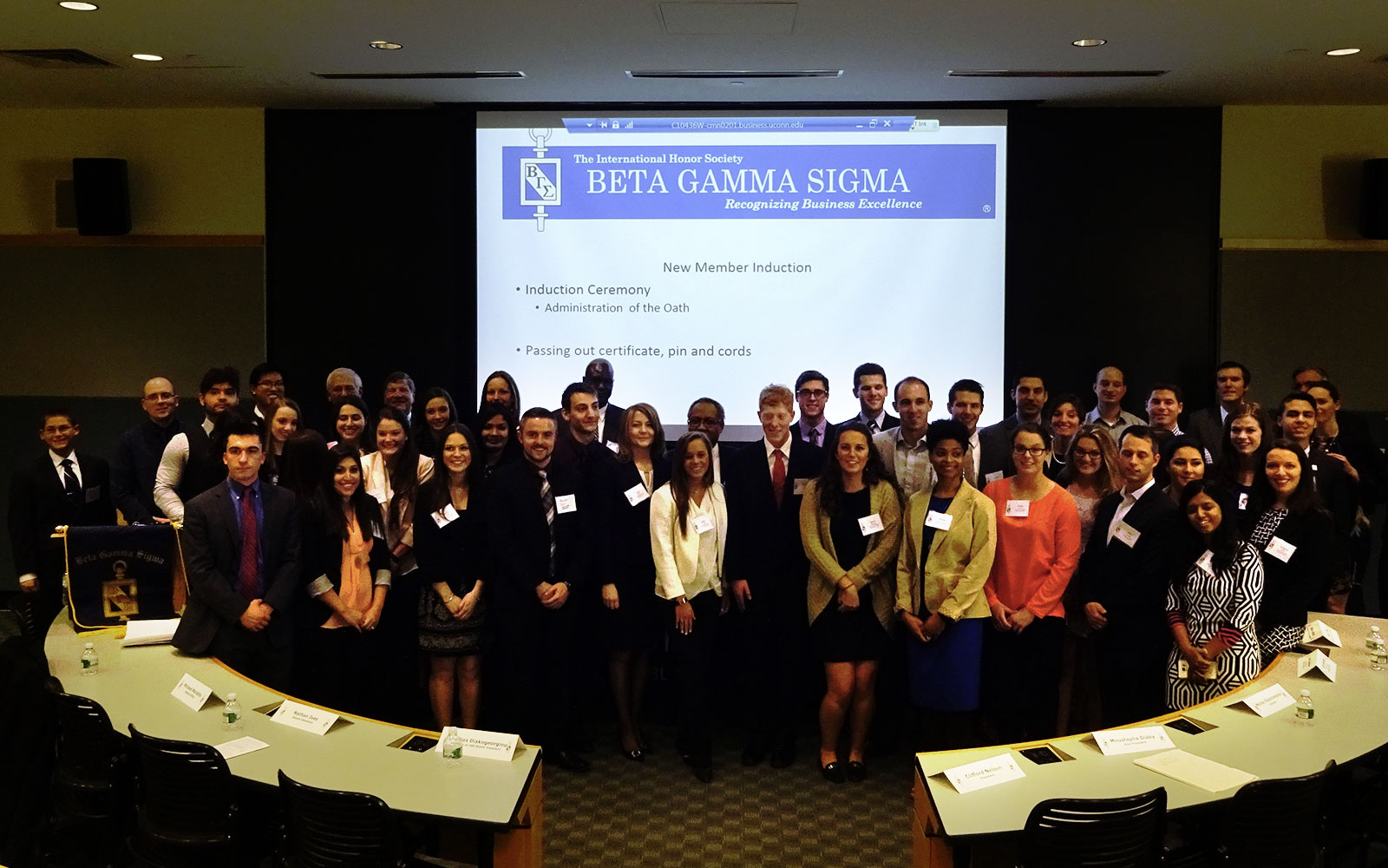 UConn Business Society Receives Highest Honors; Thriving Group Attracts Elite Students