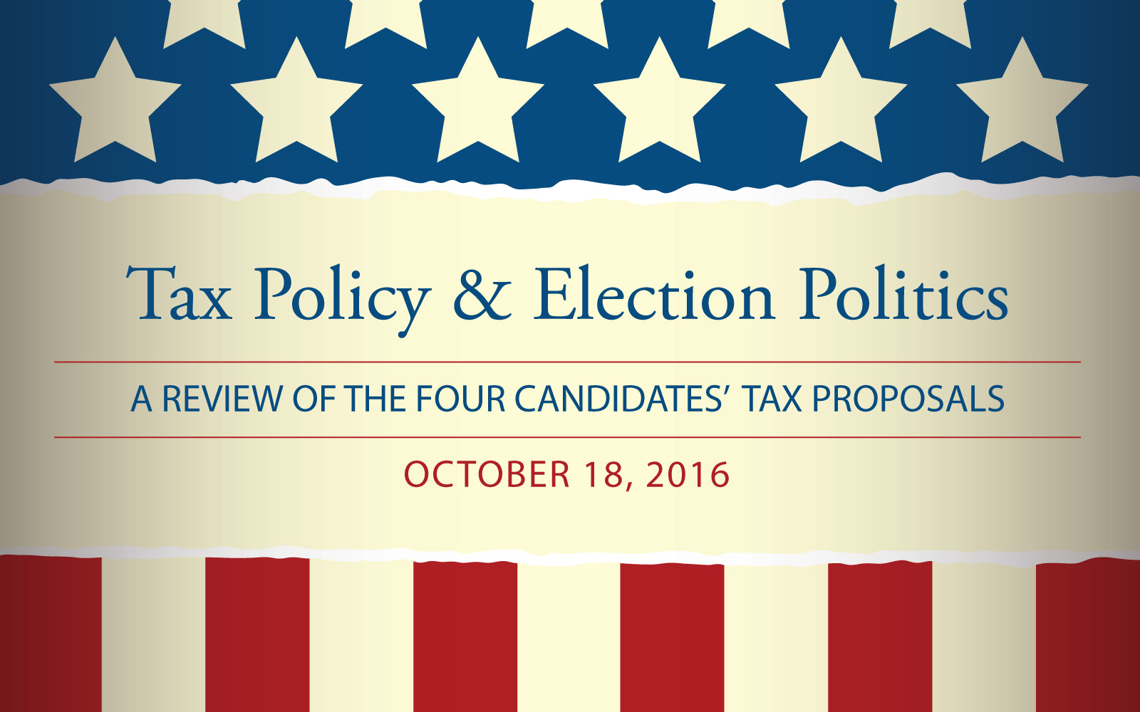 Tax Policy & Election Politics with Tax Experts & UConn Professors George Plesko and Amy Dunbar