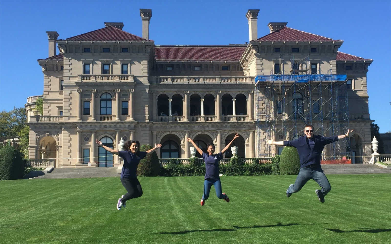 From left: Sopanha Mao, San Diego State University; Hlobile Jele, University of Johannesburg; Joshua Groh, Purdue University. (UConn School of Business)