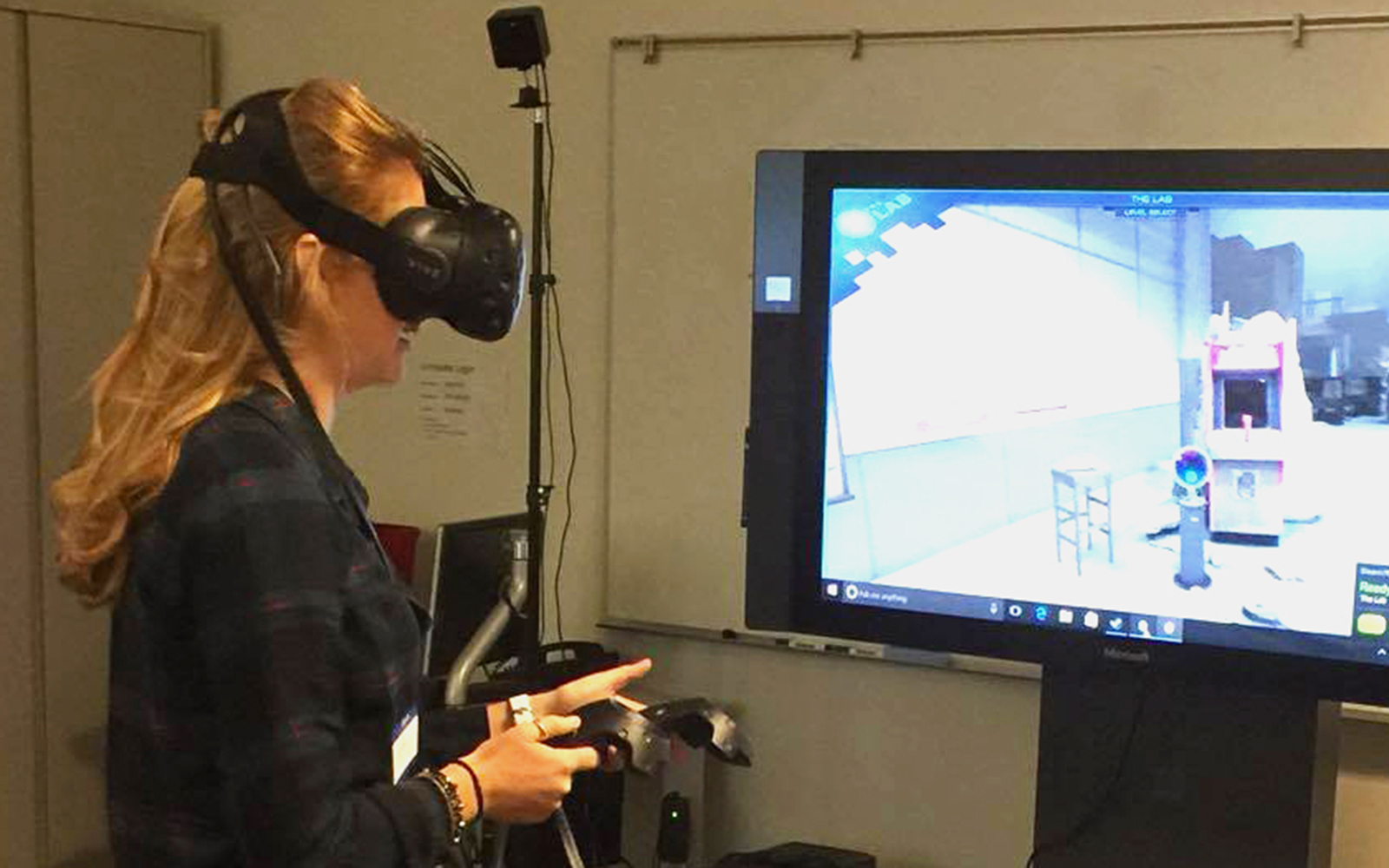 From Star Wars to Retail Merchandising: OPIM's New Virtual Reality Technology Entertains, Educates in Entirely New Way