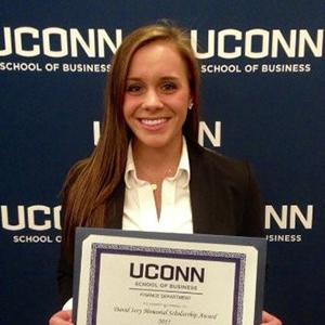 Taylor Vanfleet (UConn School of Business)