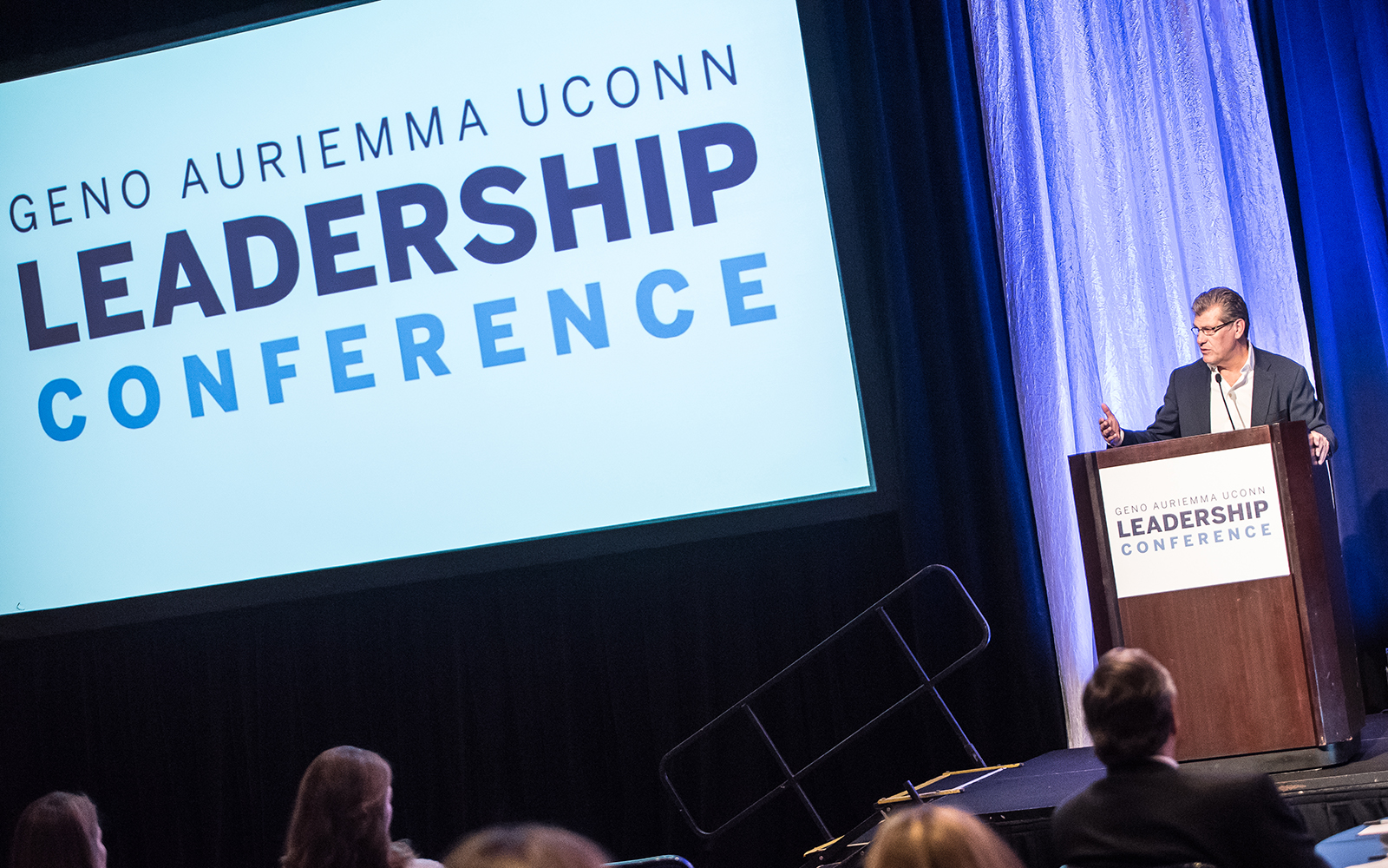 Geno Auriemma UConn Leadership Conference Offers Plethora of Advice for Rising Executives