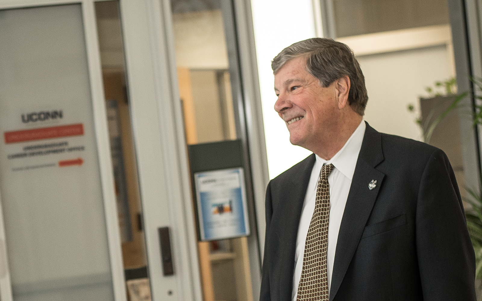 UConn School of Business Dean John Elliott (Nathan Oldham/UConn School of Business)