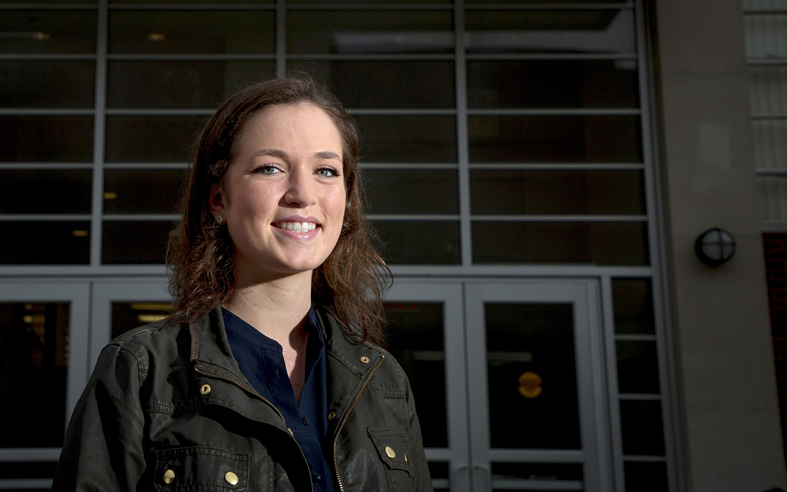 Lindsey Gilson, a senior studying Management and Engineering for Manufacturing, was awarded Intern of the Year by the American Society of Engineering Education. Gilson, a native of Trumbull, Conn., interned with Unilever in Minneapolis last year. Gilson will graduate this May. (UConn Foundation)