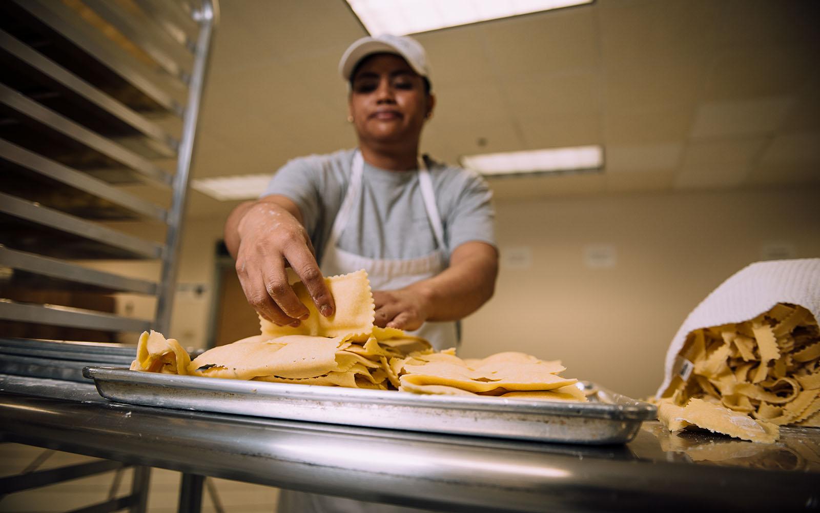DePuma's Gluten Free Pasta (Nathan Oldham/UConn School of Business)