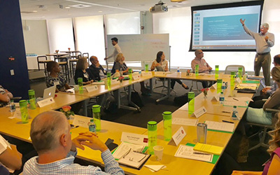 The 2017 UConn Analytics Roundtable was held on July 18 in Hartford, Conn. (Katherine Duncan/UConn School of Business)