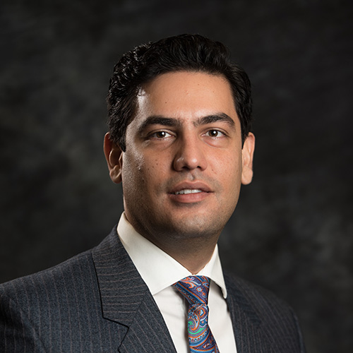Niam Yaraghi (Nathan Oldham/UConn School of Business)