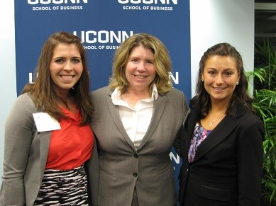 R:L Brittney Galeaz, Mary Caravella, Stephanie Riquier