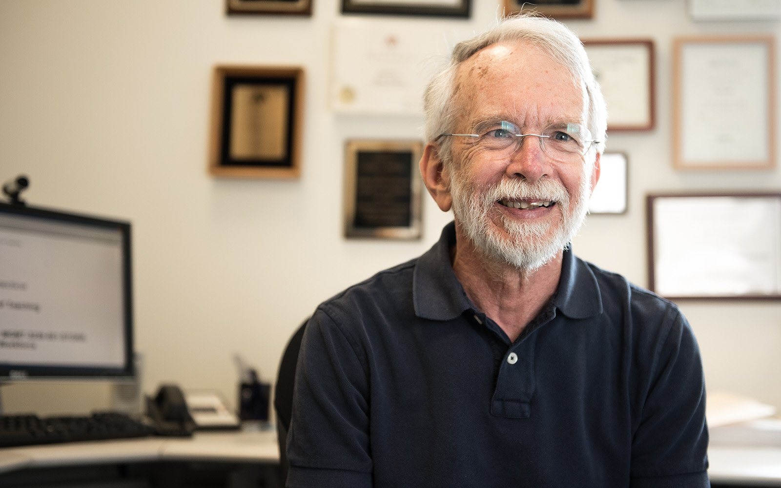 Professor Emeritus Gary Powell, an internationally recognized scholar and educator on gender, diversity, and work-family issues in the workplace. (Nathan Oldham/UConn School of Business)