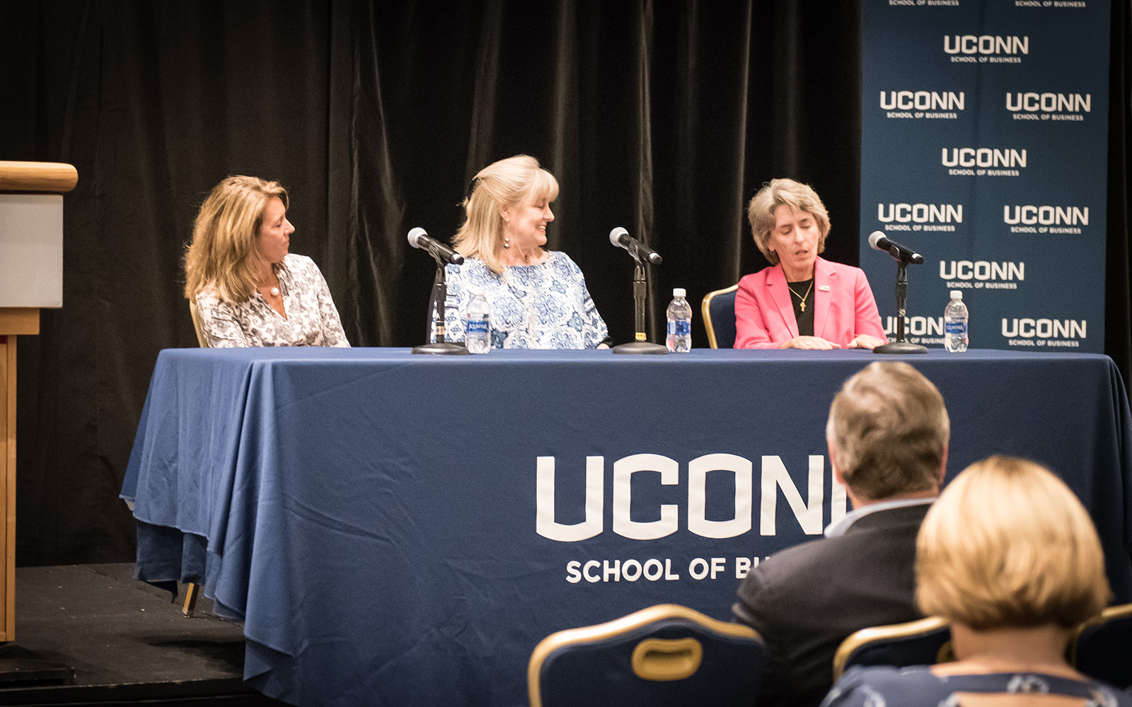 UConn NAWMBA Panel Oct. 23 (Amanda Spada/UConn School of Business)