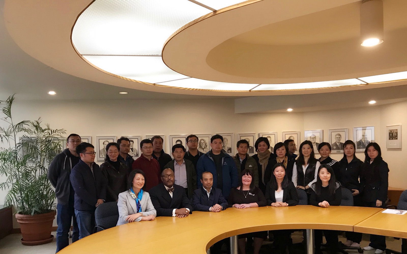In late October, the Connecticut Small Business Development Center (CTSBDC) and the UConn School of Business addressed a business delegation from China. (Emily Carter/Connecticut Small Business Development Center)
