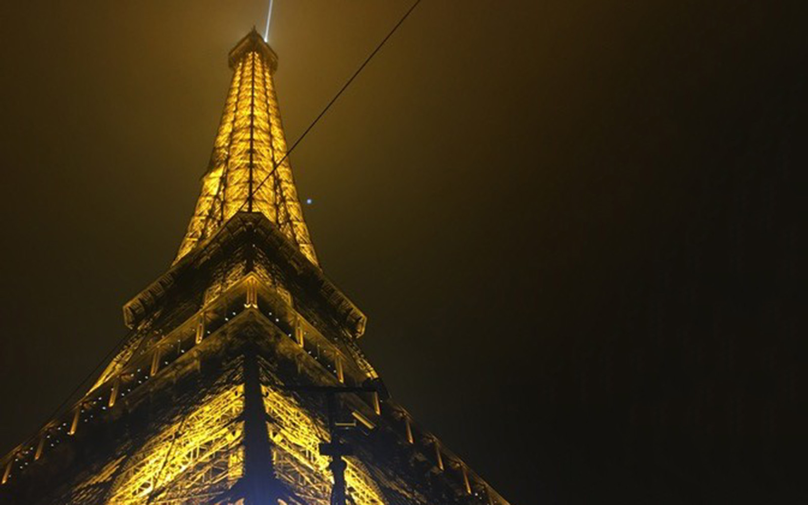 The Eiffel Tower in Paris, France (Brendan Mulcahey/UConn School of Business)