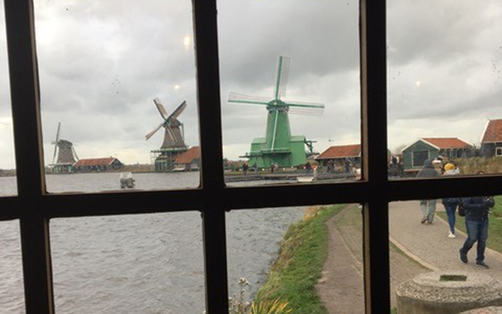 Windmills in Amsterdam (Brendan Mulcahey/UConn School of Business)