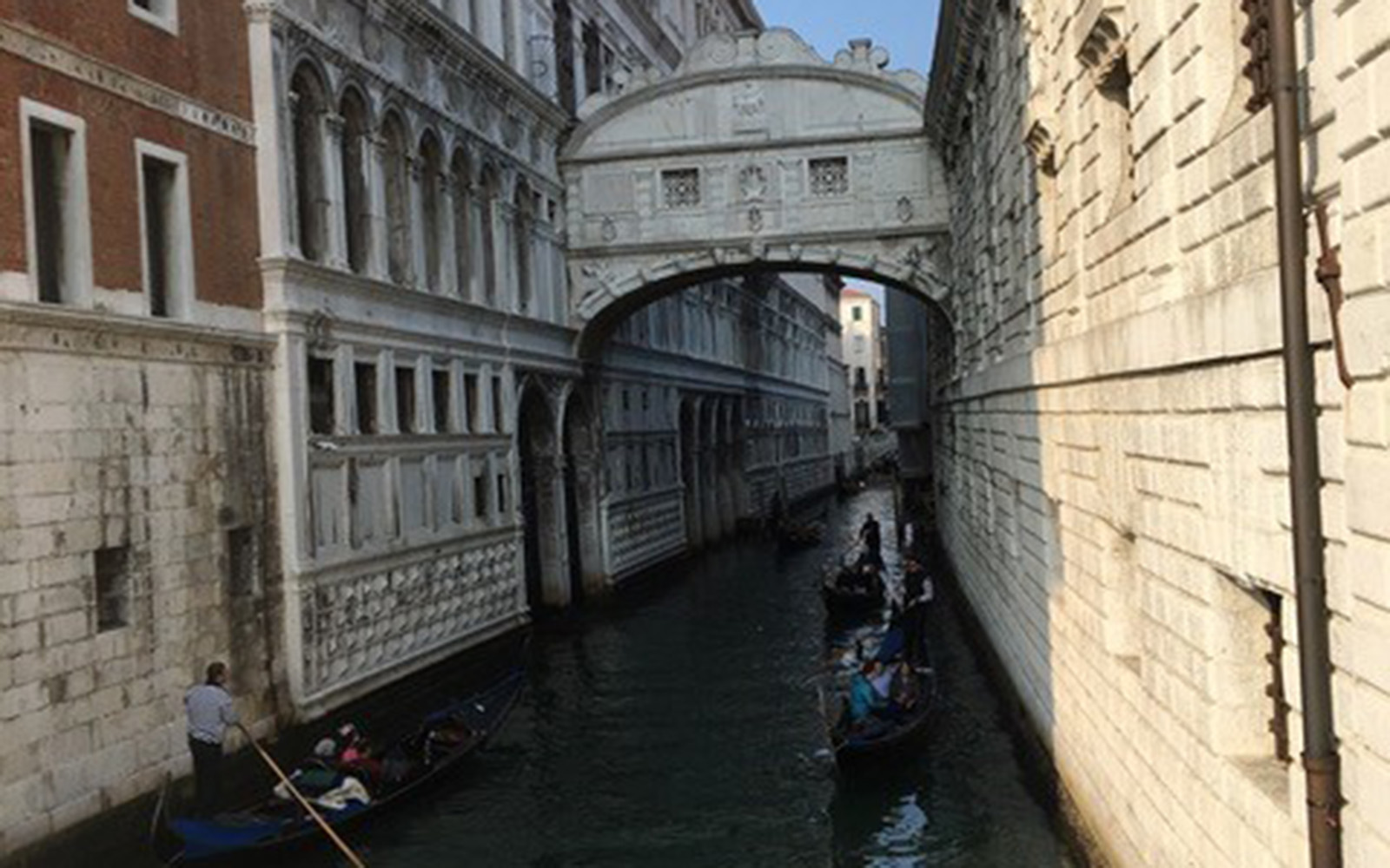 "The ""Bridge of Sighs"" in Venice, Italy (Brendan Mulcahey/UConn School of Business)"