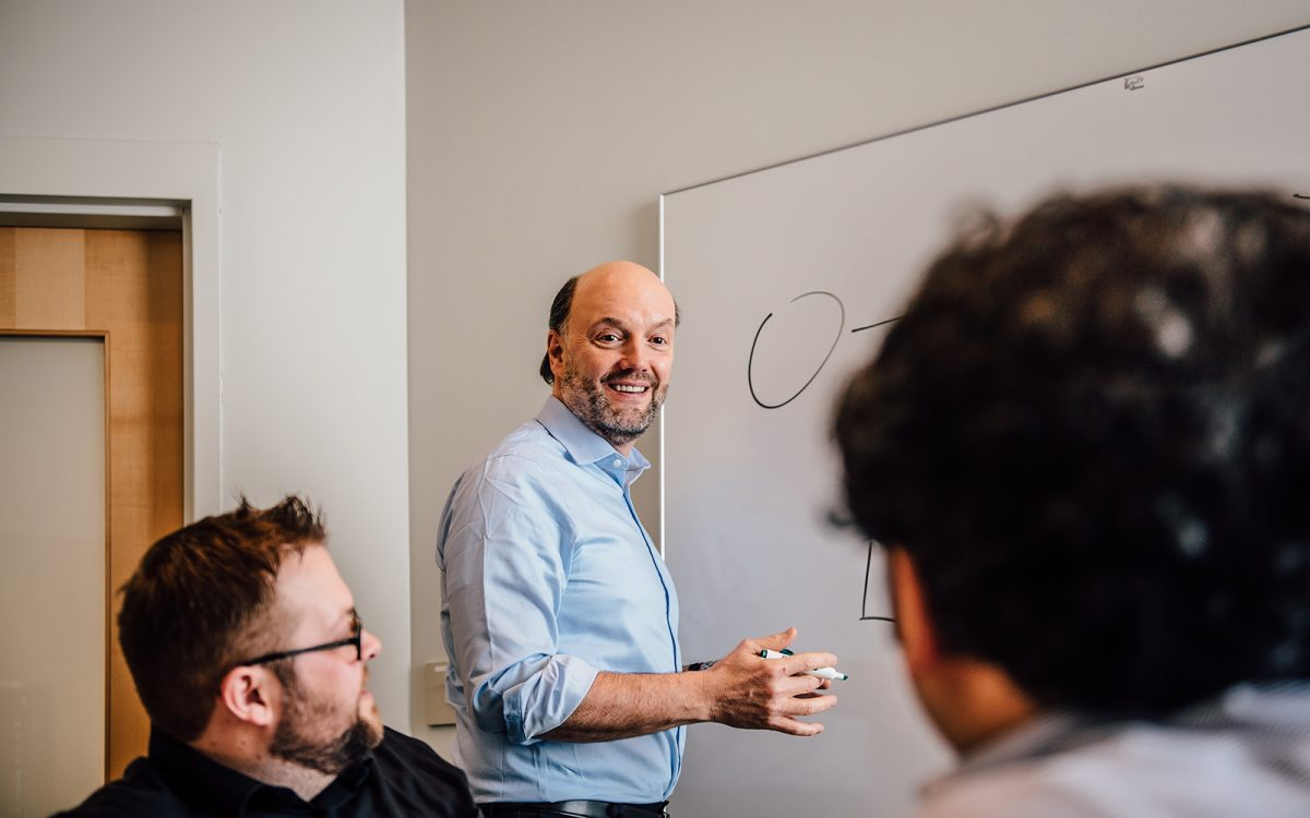 Professor John Mathieu, Management Department. (Nathan Oldham/UConn School of Business)
