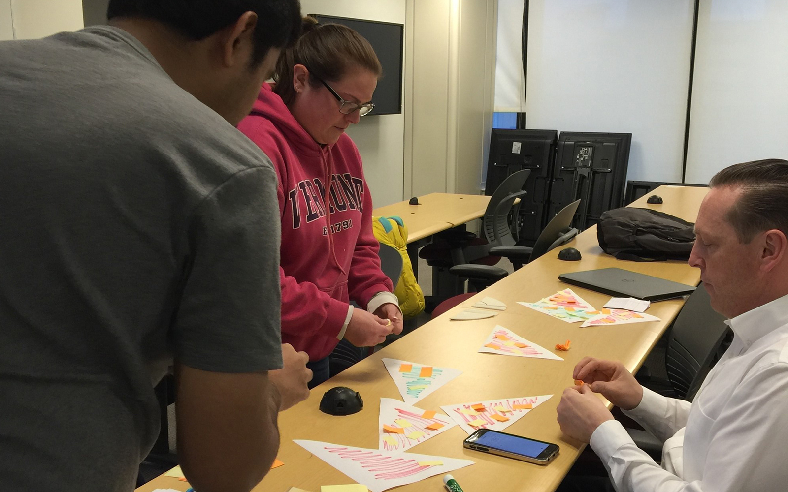 """Pizza Game"" to learn Scrum for sprint backlog (in class practice) (Guanwei Tao/UConn School of Business)"