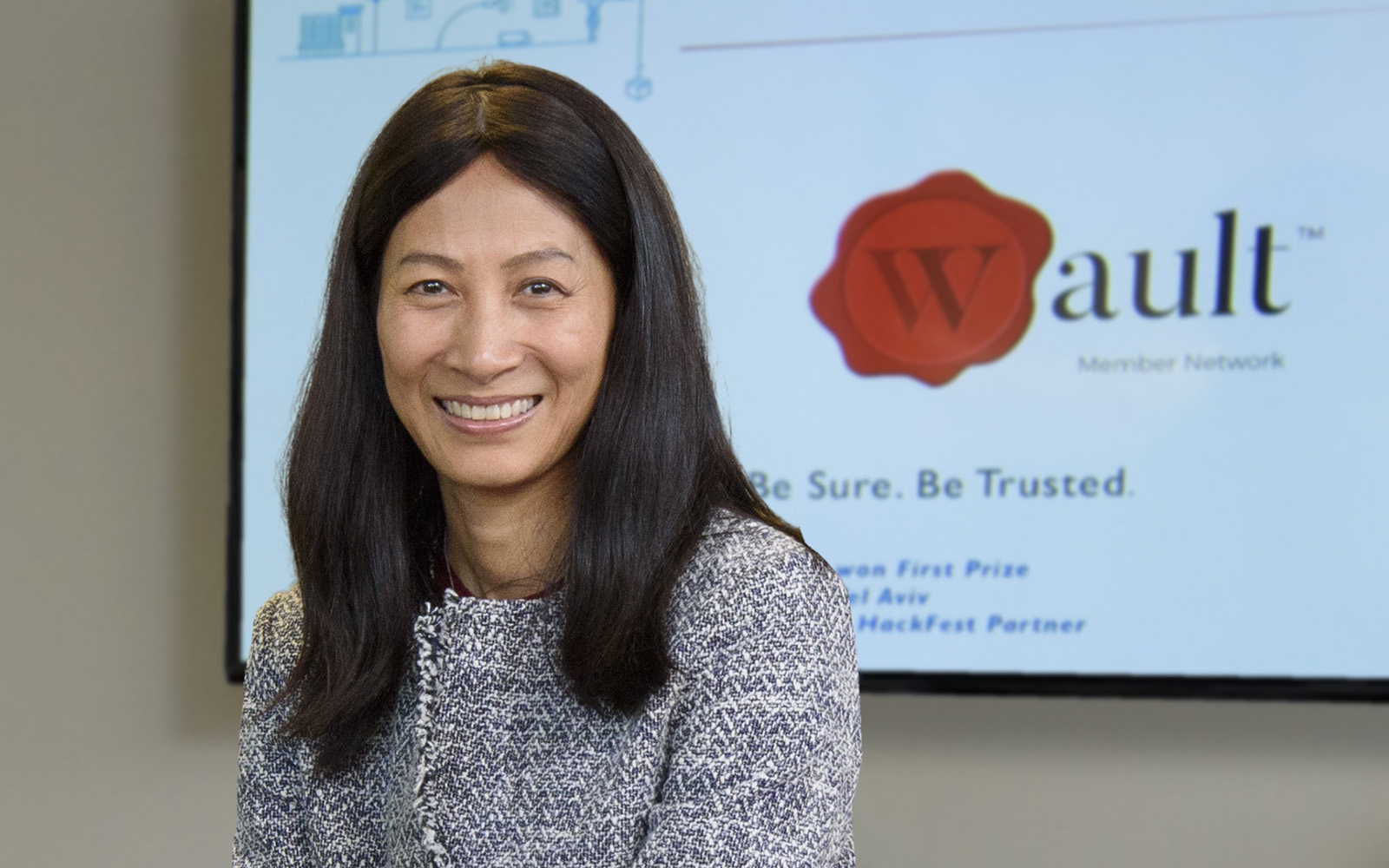 Liwen Yaacoby, founder of Wymsical, turned to the CTSBDC for help securing pre-seed funding. (Connecticut Small Business Development Center)