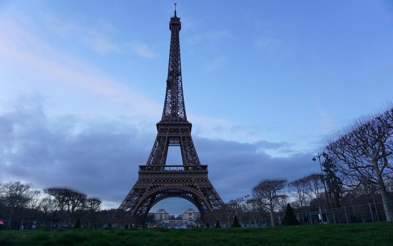 The Eiffel Tower (Auna Harvey/UConn School of Business)