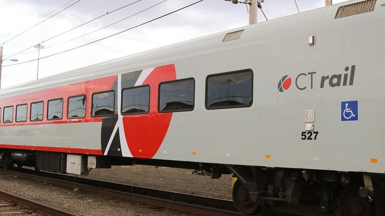 Connecticut is leasing 16 of these rehabilitated 30-year-old commuter rail cars for use on the Hartford Line.