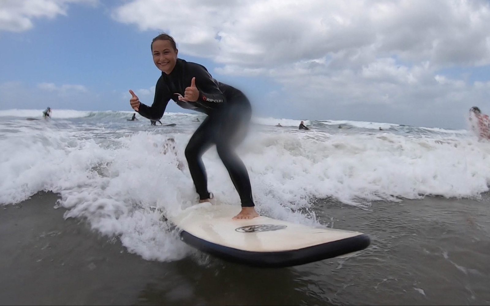 Victoria catches a wave on this week's blog!