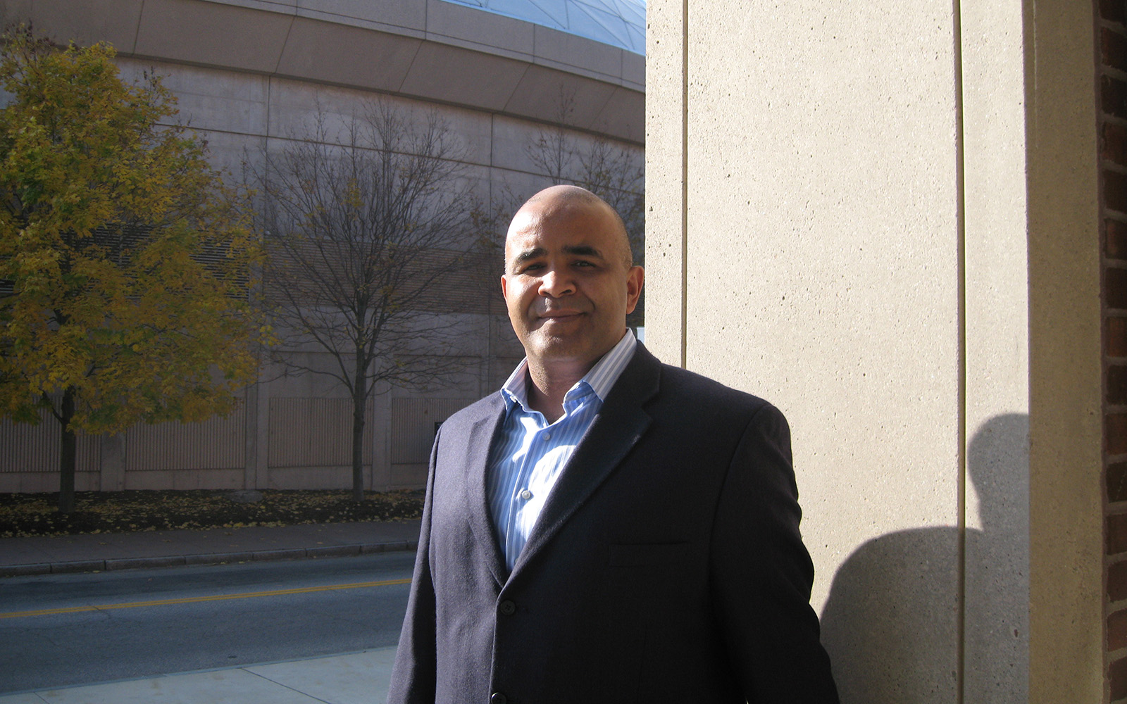 Jose Cruz of the UConn School of Business will be presented with the Service Excellence Award from the American Association of University Professors in April. (Nathan Oldham / UConn School of Business)