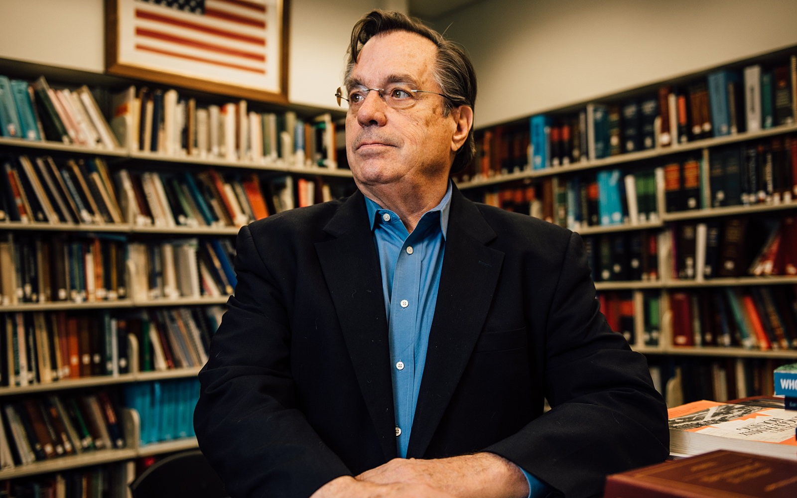 Fred Carstensen (pictured above) leads the Connecticut Center for Economic Analysis. (Nathan Oldham / UConn School of Business)