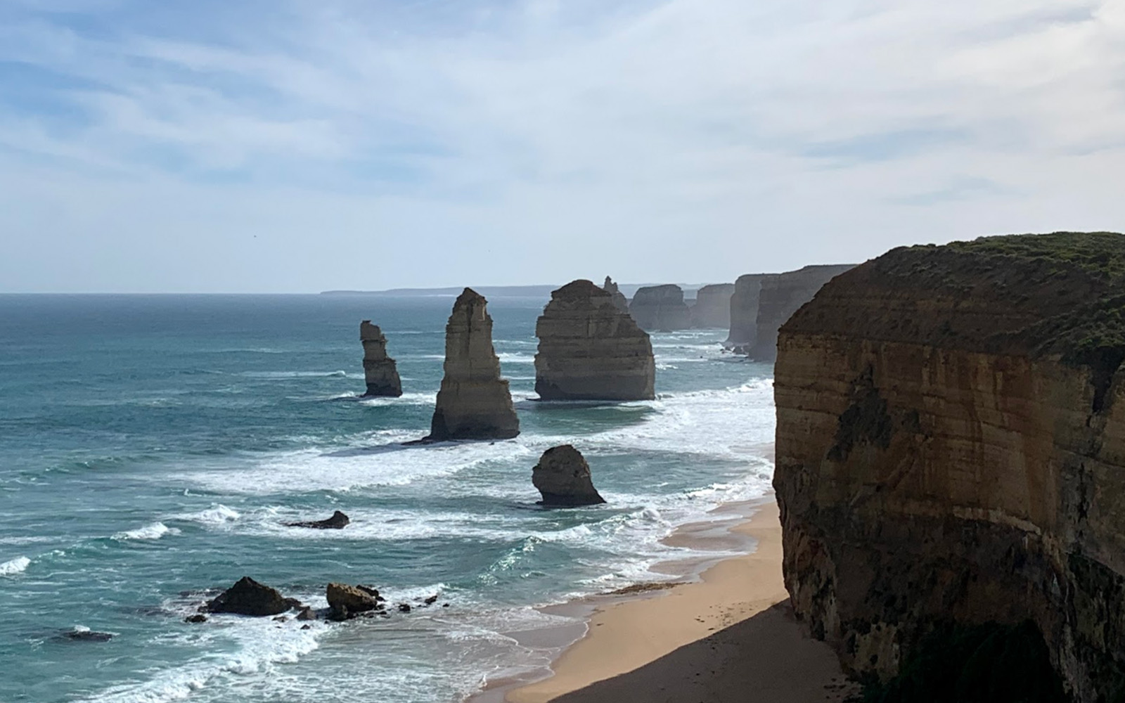 The Twelve Apostles along the Great Ocean Road (Victoria Myers / UConn School of Business)