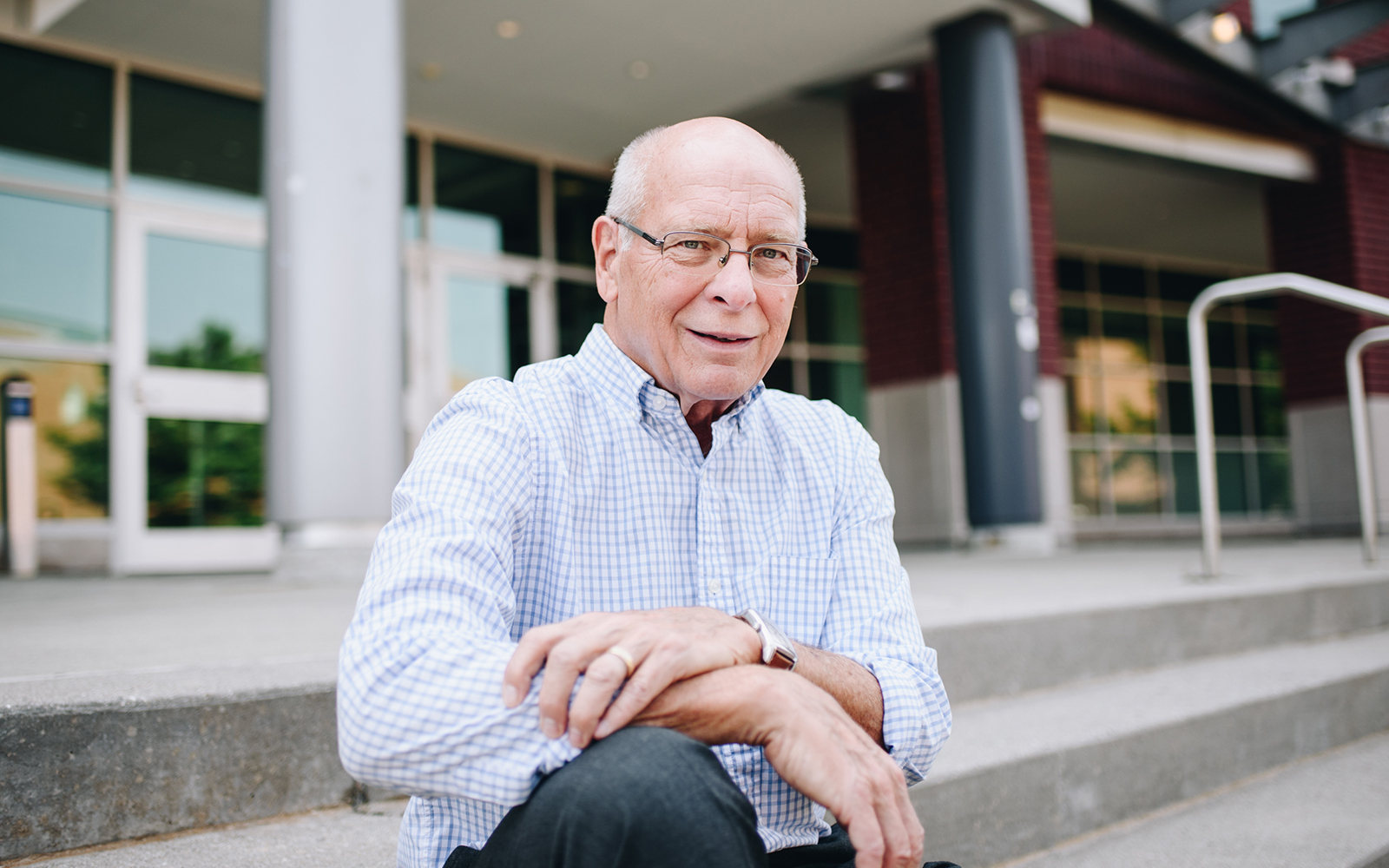 Professor John Clapp, pictured above, plans to continue his research into solutions for vacant Retail spaces (Nathan Oldham / UConn School of Business)