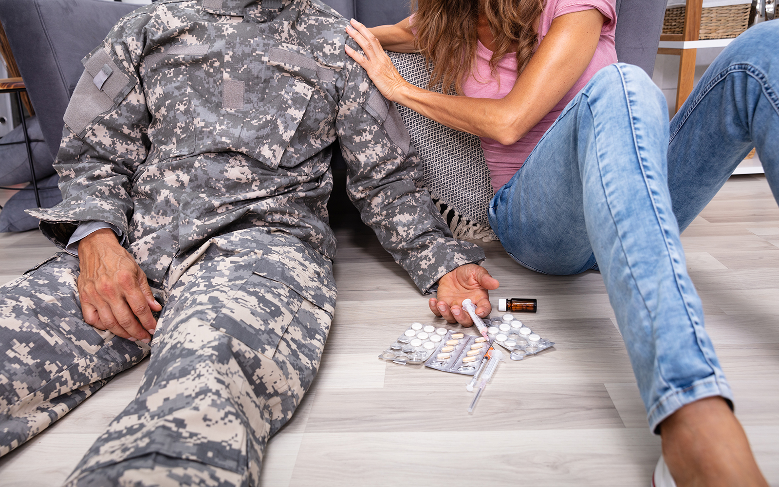 Combat service significantly increases the likelihood of opioid abuse among veterans. (Getty Images)
