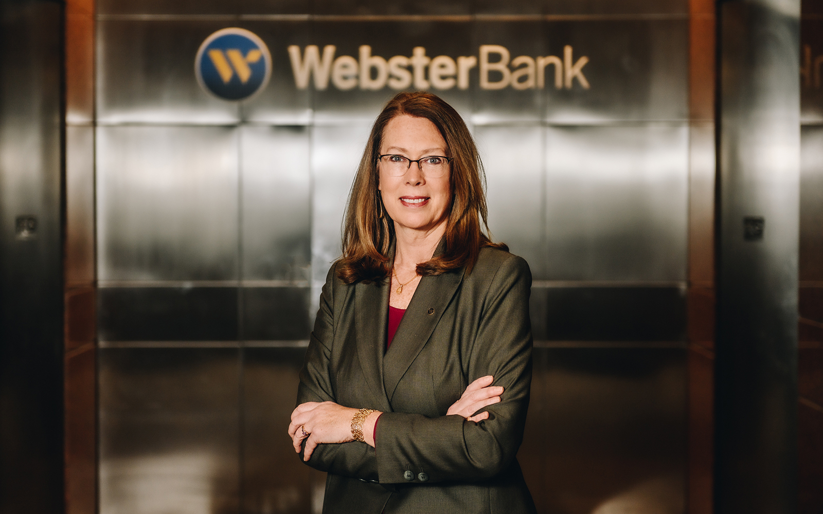 Kathy Luria '91, SVP, community affairs and director of philanthropy at Webster Bank. (Nathan Oldham / UConn School of Business)