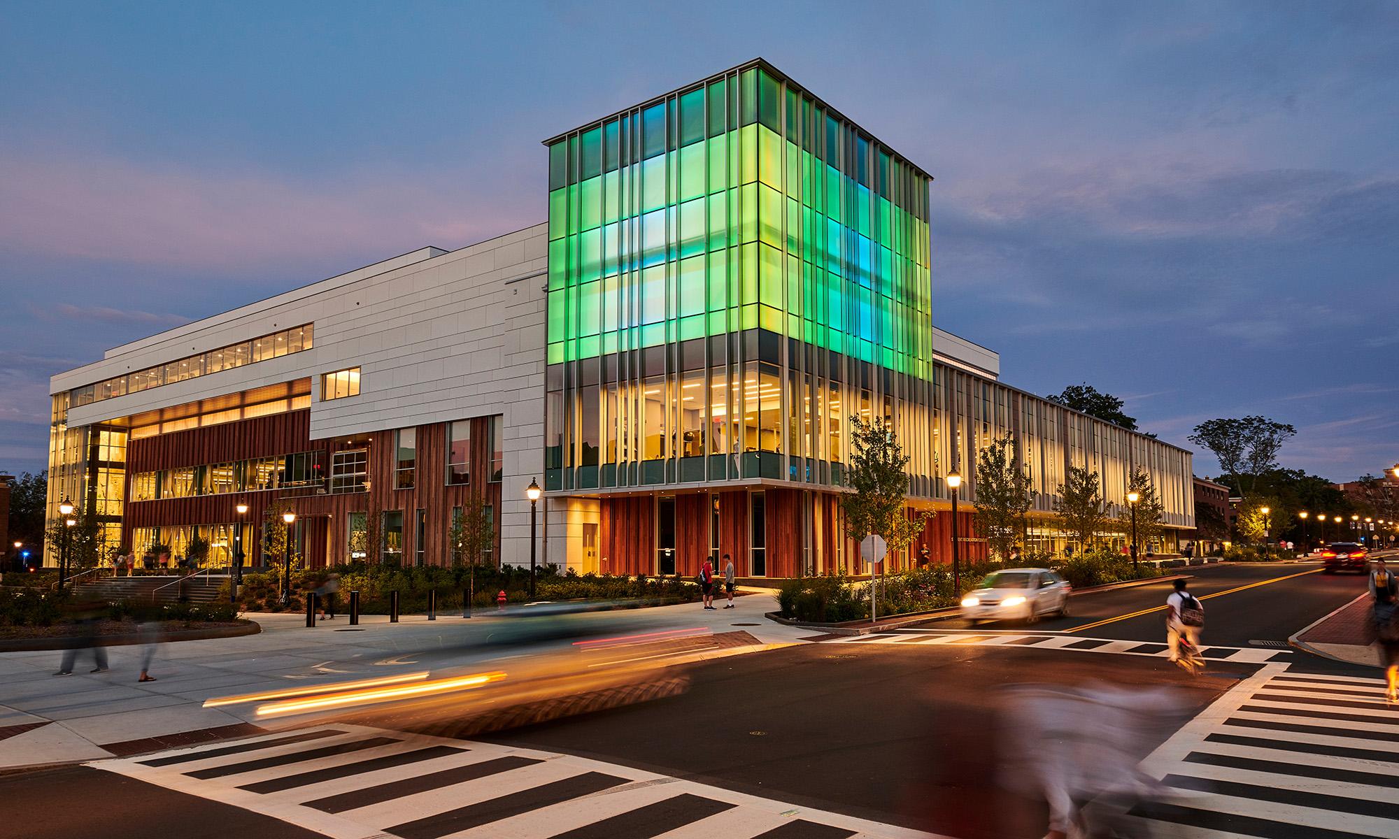 UConn's new Rec Center opens.