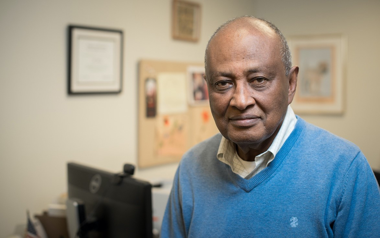 "Professor Mohammed ""Mo"" Hussein (Nathan Oldham / UConn School of Business)"